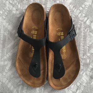 LIKE NEW Birkenstock Gizeh thong flip flop sandals